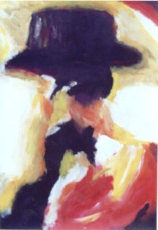 01 Chapeau - Abstraits - Jérôme Muller Peinture
