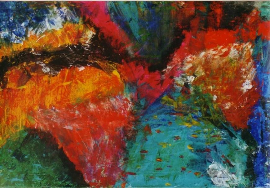 02 Eté - Abstraits - Jérôme Muller Peinture