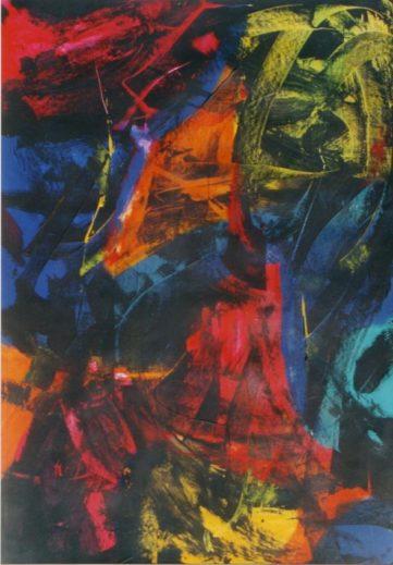 04 Noir Couleurs - Abstraits - Jérôme Muller Peinture
