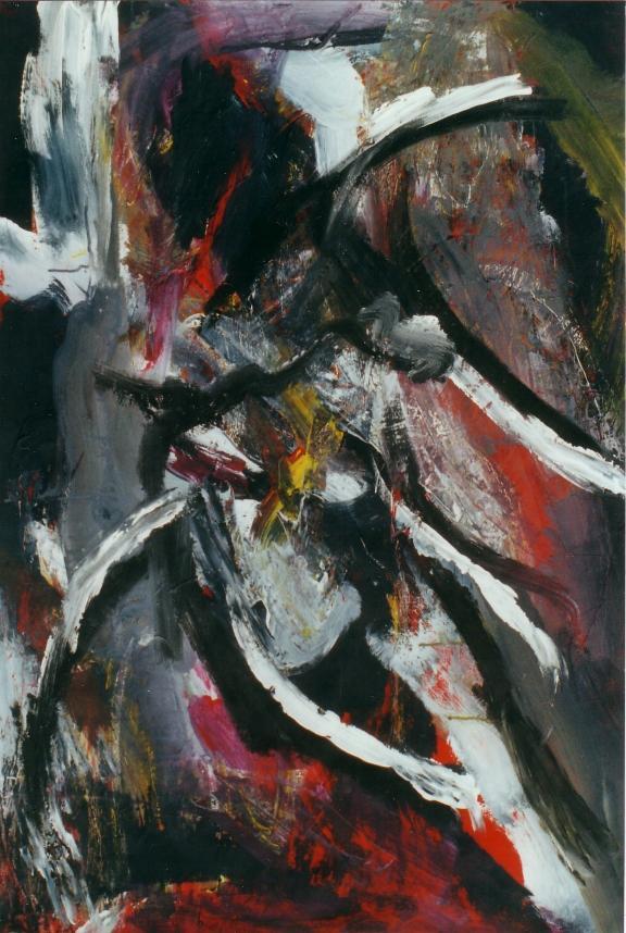 05 Trace - Abstraits - Jérôme Muller Peinture