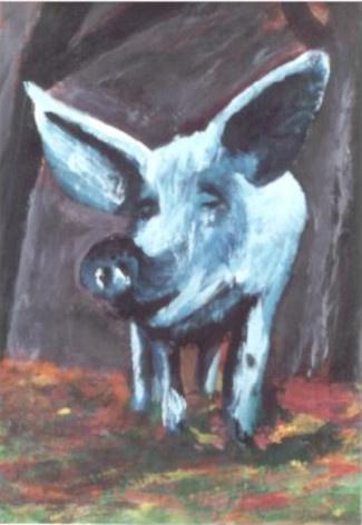 08 Cochon - Divers - Jérôme Muller Peinture