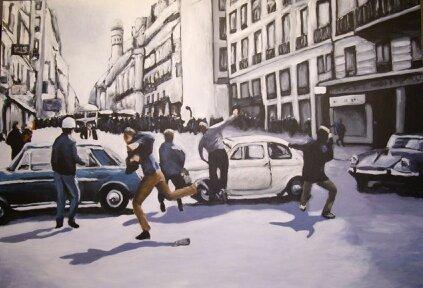 13 Mai 68 - Divers - Jérôme Muller Peinture