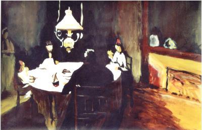 15 Intérieur 1900 - Divers - Jérôme Muller Peinture