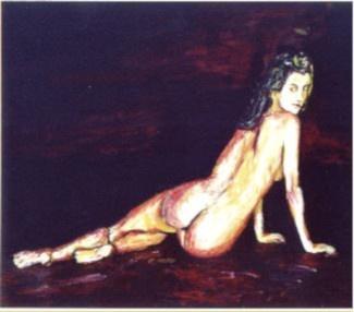 36 De Dos - Nus - Jérôme Muller Peinture
