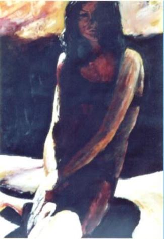 37 Lucie - Nus - Jérôme Muller Peinture
