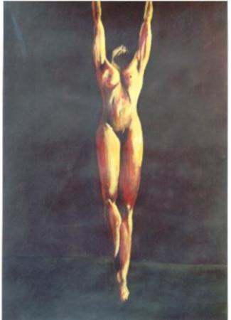 39 Suspendu - Nus - Jérôme Muller Peinture