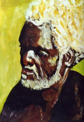 41 Aborigène - Portraits - Jérôme Muller Peinture