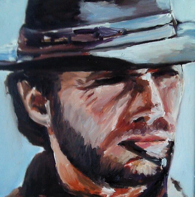 45 Clint - Portraits - Jérôme Muller Peinture