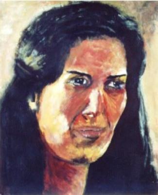 46 Espagnole - Portraits - Jérôme Muller Peinture