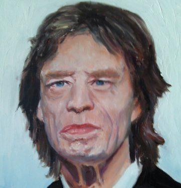 51 Mick - Portraits - Jérôme Muller Peinture