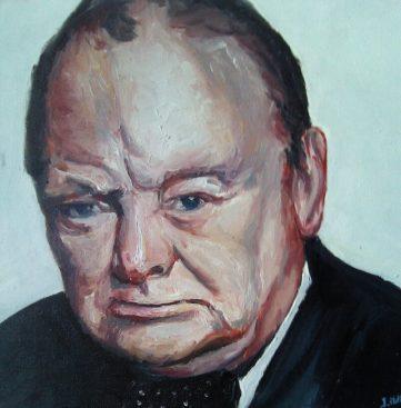 53 Winston - Portraits - Jérôme Muller Peinture