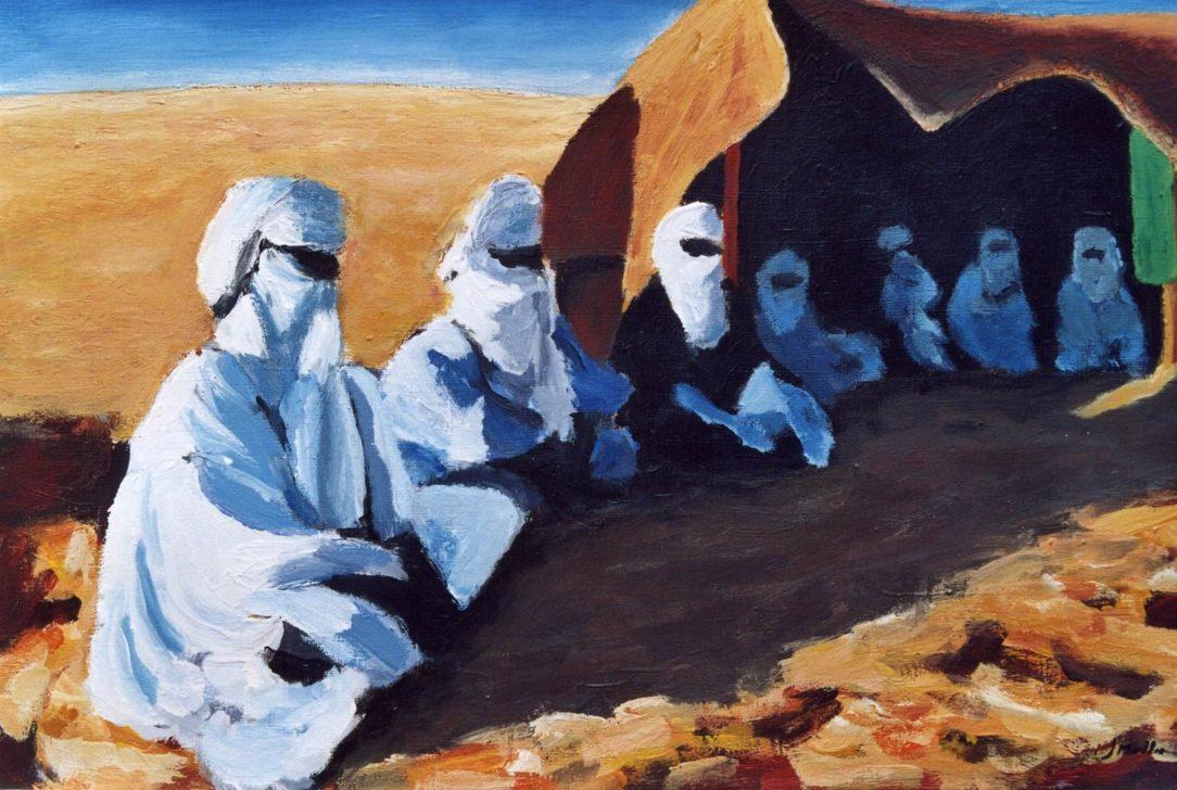 64 Touareg 05 - Sahara - Jérôme Muller Peinture