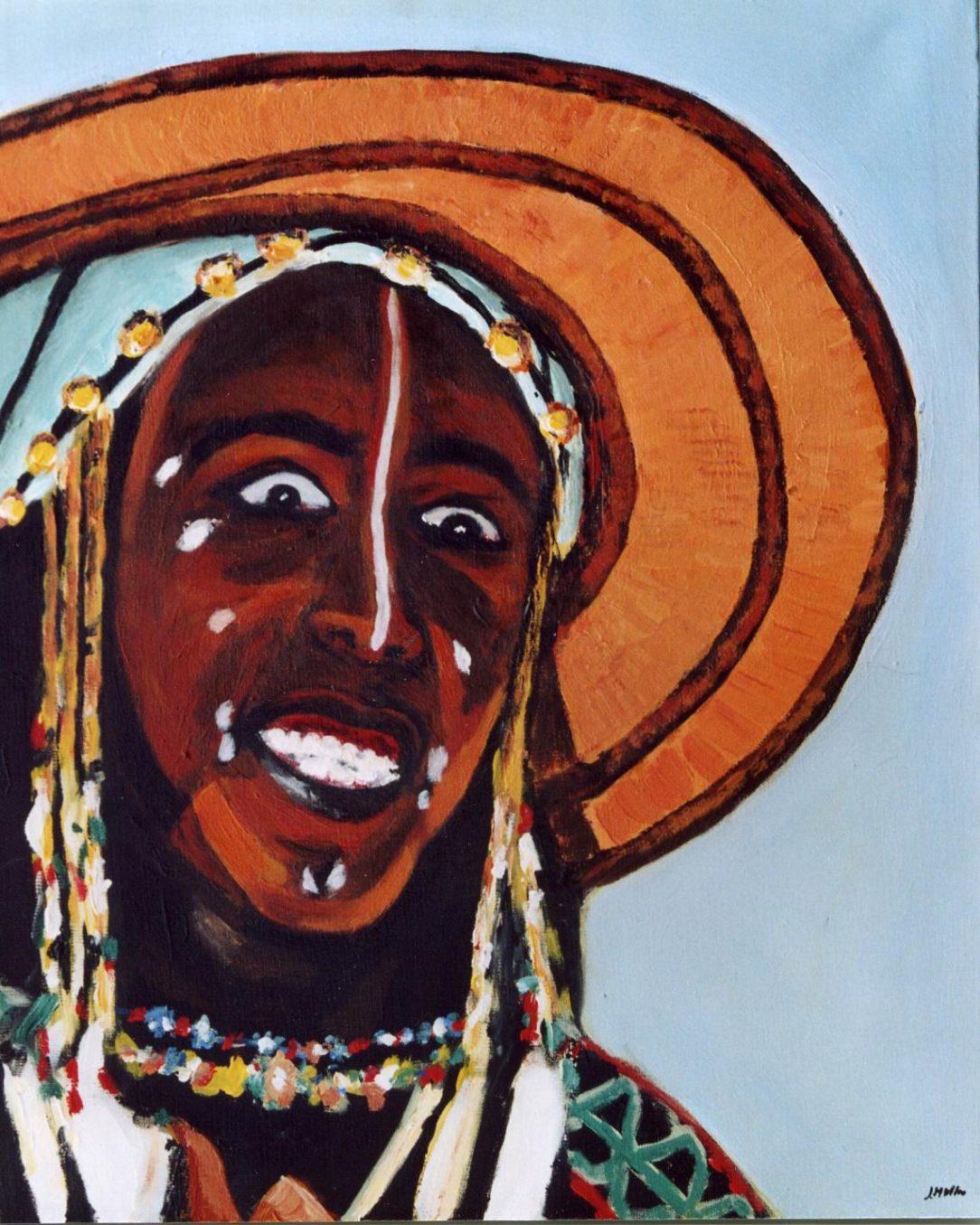 68 Touareg 13 - Sahara - Jérôme Muller Peinture