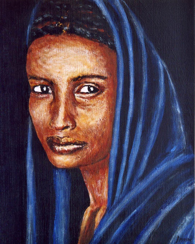 70 Touareg 15 - Sahara - Jérôme Muller Peinture