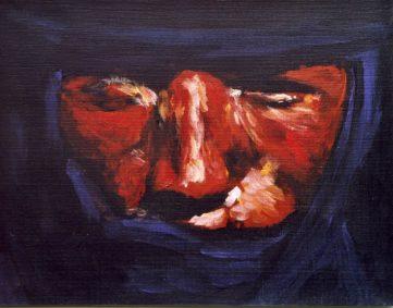 71 Touareg 18 - Sahara - Jérôme Muller Peinture