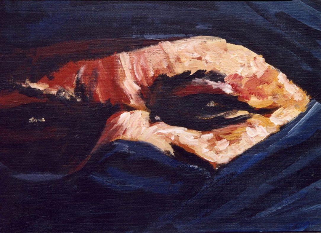 72 Touareg 19 - Sahara - Jérôme Muller Peinture