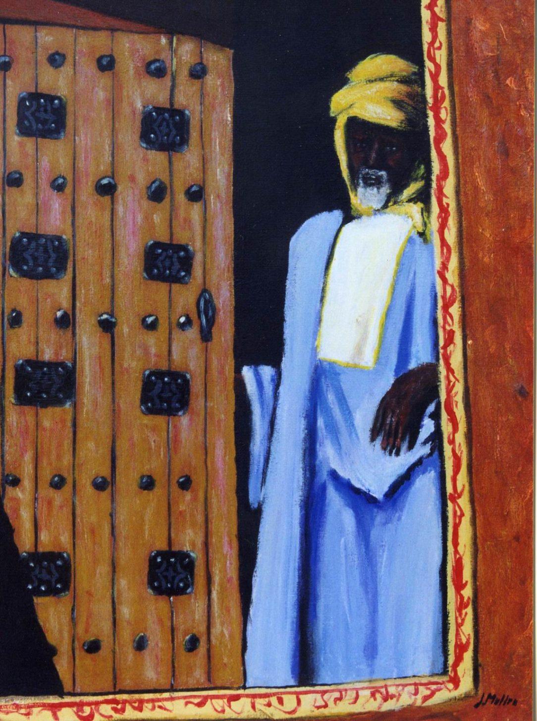 76 Touareg 26 - Sahara - Jérôme Muller Peinture
