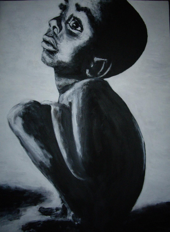 93 Seul - Solitude - Jérôme Muller Peinture
