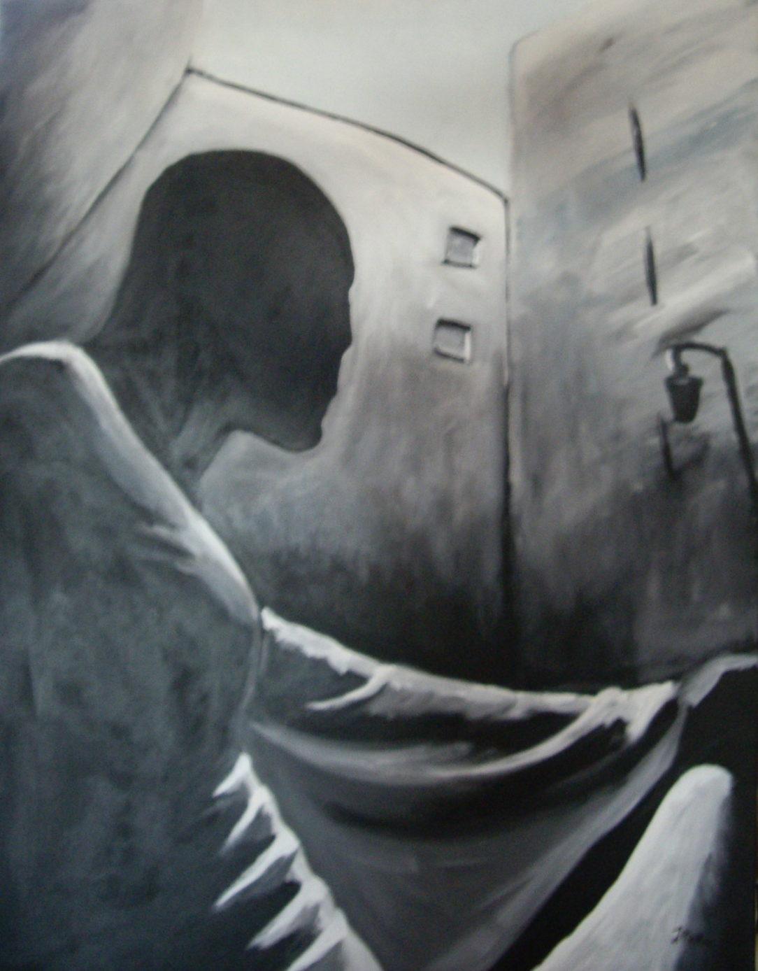 95 Solitude - Solitude - Jérôme Muller Peinture