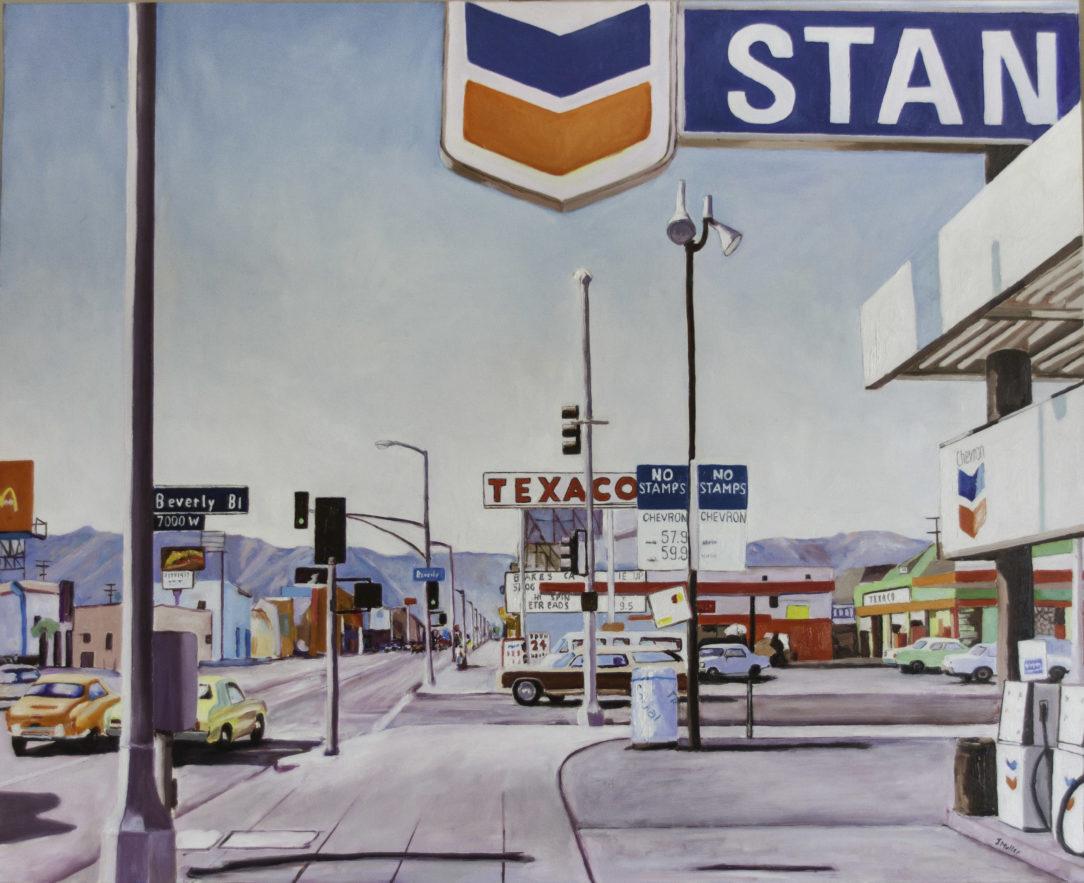 107 Texaco - USA - Jérôme Muller Peinture