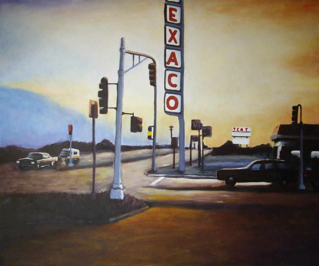 109 Carrefour - USA - Jérôme Muller Peinture