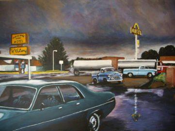 110 Orage - USA - Jérôme Muller Peinture