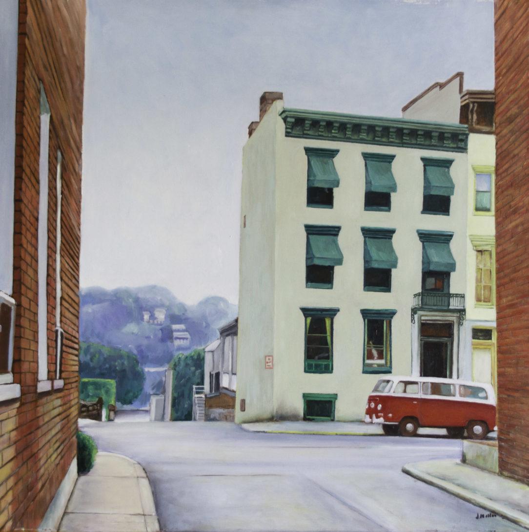 111 VW rouge - USA - Jérôme Muller Peinture