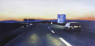 112 Bleu des Vosges - Voyage - Jérôme Muller Peinture