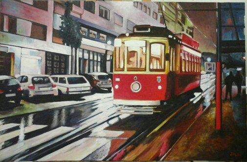 117 Porto - Voyage - Jérôme Muller Peinture