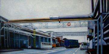 23 Camion - Usine - Jérôme Muller Peinture