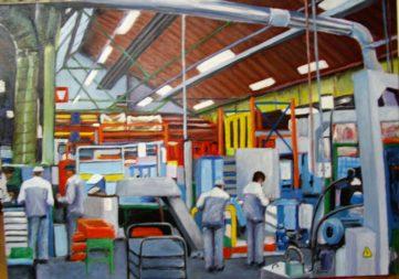 30 Atelier mécanique - Usine - Jérôme Muller Peinture