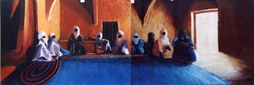 67 Touareg 10 - Sahara - Jérôme Muller Peinture